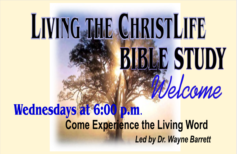 Living the ChristLife Bible Study